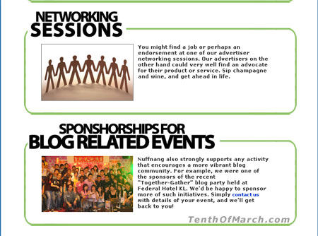 Nuffnang Sponsorship For Blog Related Events