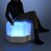 Fuwapica high-tech furniture that lights up on pressure