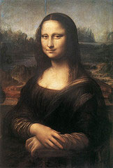 Mona lisa photo from flickr