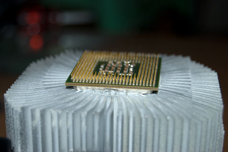 Processor stuck to heatsink