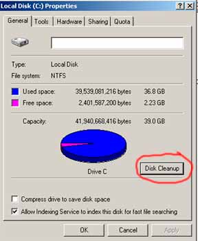 Windows Hard Disk Cleanup